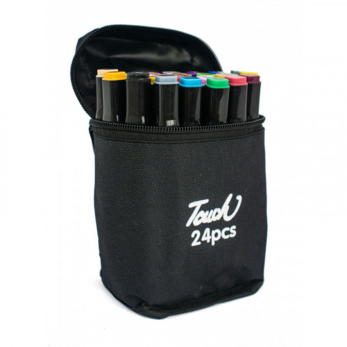 Набор маркеров 24 цвета TOUCH Marker