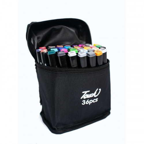 Набор маркеров 36 цвета TOUCH Marker