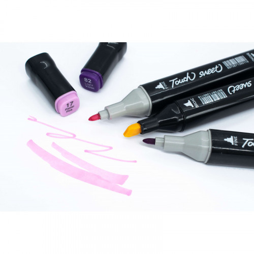 Набор маркеров 48 цветов TOUCH Marker