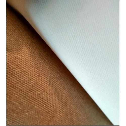 Холст в рулоне грунтованный 2х3 м, среднее зерно, плотн.335г/м, Итальянский хлопок ТМ Unico