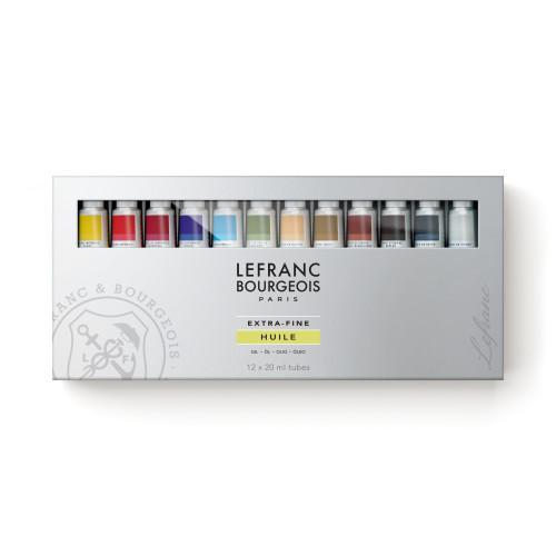 Набор масляных красок Lefranc Extre-Fine Oil Set , 12х20 мл 405165