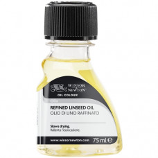 Льняное масло Winsor Refined Linseed Oil, 75 мл 2621748
