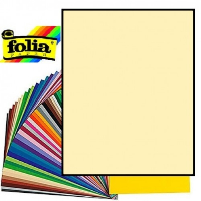 Картон Folia Photo Mounting Board 300 гр, 50x70 см, №11 Straw yellow (Соломянный)