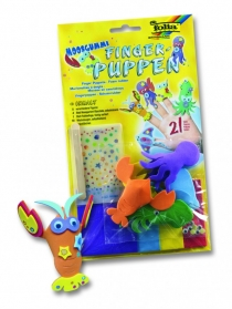 "Набор детский  Foamcraft Finger Puppets, ""Underwaterworld Animals"" 5 шт"