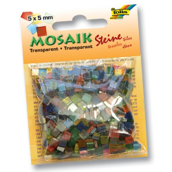 Мозаика декоративная Folia Translucent 45g 5x5 мм