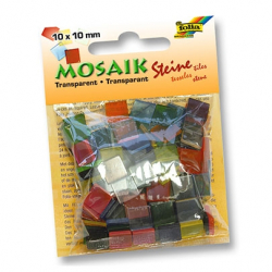 Мозаика декоративная Folia Translucent 45g 10x10 мм
