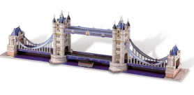 Пазлы Folia 3D-Modellogic Tower Bridge/London, 118 единиц