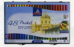 Пастель мягкая Conte Box of 48 assorted soft pastels