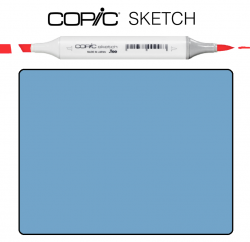 Маркер Copic Sketch B-95 Light grayish cobalt Светло-серый кобальт