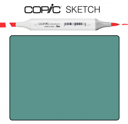 Маркер Copic Sketch BG-75 Abyss green Зеленая Темнаяя