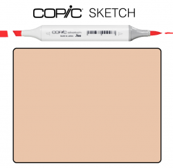 Маркер Copic Sketch E-13 Light suntan Латте
