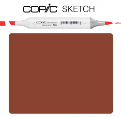Маркер Copic Sketch E-29 Burnt umber Паленая умбра