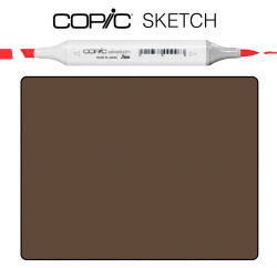 Маркер Copic Sketch E-49 Dark bark Темная кора