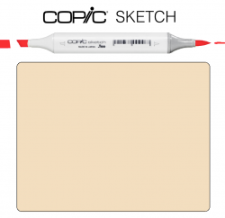 Маркер Copic Sketch E-53 Raw silk Шелковый