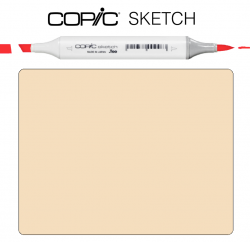 Маркер Copic Sketch E-55 Light camel серый беж
