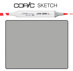 Маркер Copic Sketch W-5 Warm gray Теплый серый