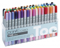 Набор маркеров Copic CIAO Set А, 72 шт - 22075160