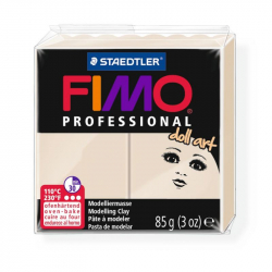 Пластика professional doll art бежевая 110С 85г Fimo