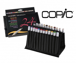 Маркеры Copic Sketch 24 шт. в пенале 21075424