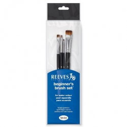 Кисти для гуаши Reeves Watercolour Set, 4 шт
