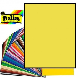 Картон Folia Photo Mounting Board 300 гр, A4, №12 Lemon yellow (Лимонно-жовтий)
