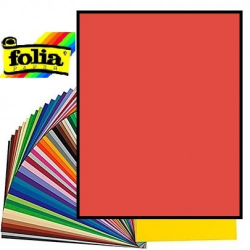 Картон Folia Photo Mounting Board 300 гр, A4, №20 Hot red (Темно-червоний)