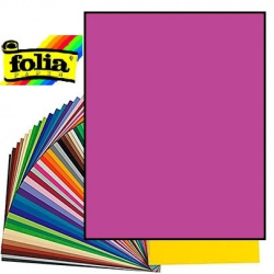 Картон Folia Photo Mounting Board 300 гр, A4, №21 Dark pink (Рожево-фіолетовий)