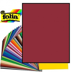 Картон Folia Photo Mounting Board 300 гр, A4, №22 Dark red (Бордовий)
