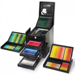 ПОДАРОЧНЫЙ НАБОР 110051 FABER CASTELL 482 ШТ.  LAGERFELD ART & GRAPHIC KARLBOX - Limited Edition
