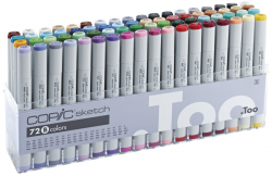 "Маркеры Copic Sketch Set ""B"" 72 шт - 21075161"