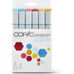 Маркеры Copic Sketch Set Perfect Primiries 6 шт 21075661