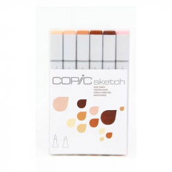Маркеры Copic Sketch Set Skin Tones 6 шт 21075666