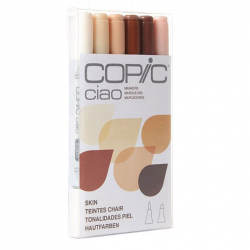 Маркеры Copic Ciao Set Skin 6 шт 22075666