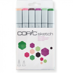 Маркеры Copic Sketch Set Floral Favorites 1 6 шт 21075668