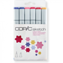 Маркеры Copic Sketch Set Floral Favorites 2 6 шт 21075669
