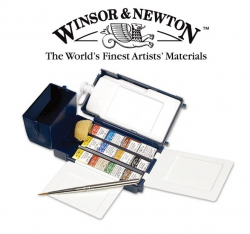 Акварельные краски Winsor & Newton Professional Water Colour Field Box
