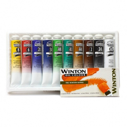 Масляные краски Winsor & Newton Winton Oil Colour Tube Set 10х21 мл