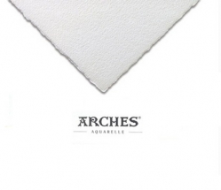 Акварельная бумага холодного пресса Canson Arches Cold Pressed 300 гр, 56x76 см