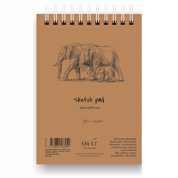 Sketch pad Natural